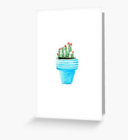 Mini Cactus Greeting Card