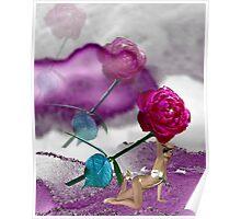 Fallen Rose Poster