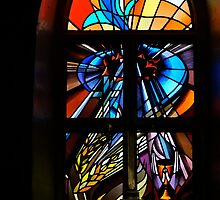 Sanctuary Window ~ St Barnabas Oberon by Jan Stead JEMproductions