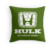 Hulk Honda Throw Pillow
