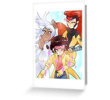X-Men Ladies Greeting Card