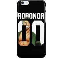 Roronoa Zoro 00 iPhone Case/Skin