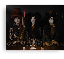 The Tea Ceremony Canvas Print