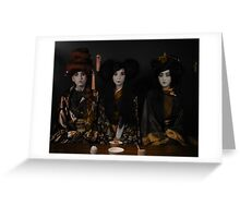 The Tea Ceremony Greeting Card