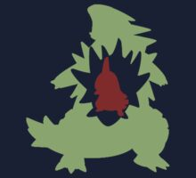 Larvitar Evolution Kids Tee