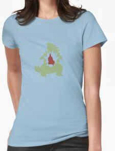 Larvitar Evolution Womens Fitted T-Shirt