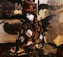 Geisha Series Number 3 by Jeff Burgess