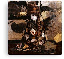 Geisha Series Number 3 Canvas Print