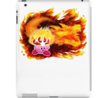 Fire Kirby iPad Case/Skin