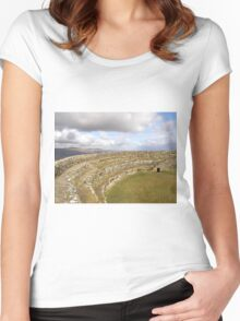 Ancient Stones Donegal, Ireland Women's Fitted Scoop T-Shirt