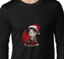 Chibi Levi Long Sleeve T-Shirt