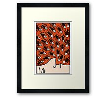 Getting up my nose Framed Print