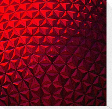 Red Geometry by John Dalkin