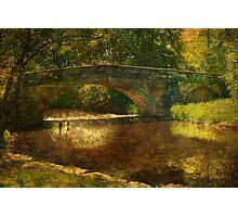 A Country Bridge Photographic Print