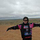 Another old wreck in the desert... Broken Hill by Juilee  Pryor