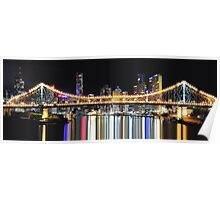 Story Bridge, Brisbane, Australia. Poster