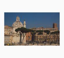 Rome - Umbrella Pines and Sunshine  Kids Tee