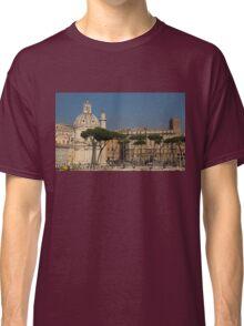 Rome - Umbrella Pines and Sunshine  Classic T-Shirt