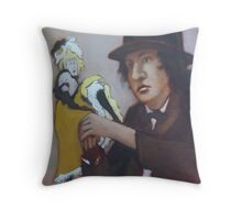 Young French Man with a Dream Throw Pillow