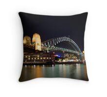 Sydney Harbour Bridge Throw Pillow