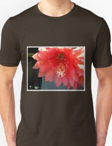 Retro Pink and Orange with Fluff and Stuff Unisex T-Shirt