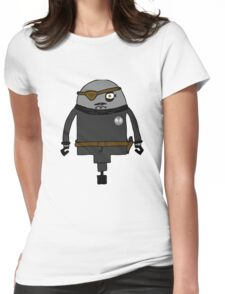 Nick Furious Womens Fitted T-Shirt