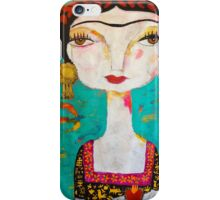 Frida - Holding iPhone Case/Skin
