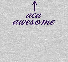 Aca-awesome! Womens Fitted T-Shirt