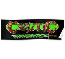 Celtic Knights logo Poster