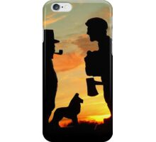 Old friends Converge at Dusk... iPhone Case/Skin