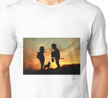 Old friends Converge at Dusk... Unisex T-Shirt