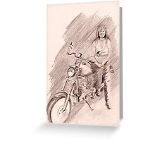 Mama Bs Sporty Greeting Card