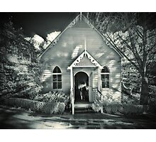 The Wedding Chapel Photographic Print