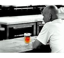 The Lonely Beer Photographic Print