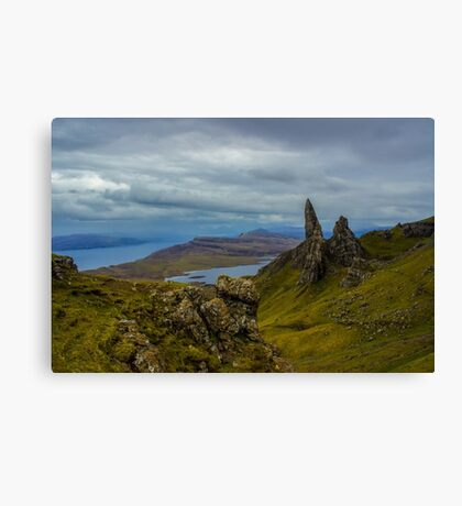 In The Highlands Canvas Print