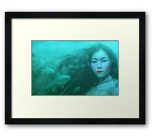 Going Under Framed Print