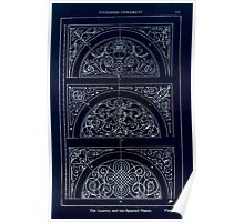 A Handbook Of Ornament With Three Hundred Plates Franz Sales Meyer 1896 0287 Enclosed Ornament Lunette Spanrail Panel Inverted Poster
