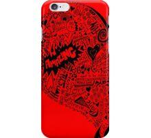 HeartFull graffiti love iPhone Case/Skin