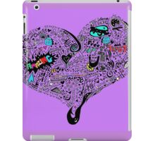 HeartFull graffiti love iPad Case/Skin