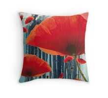 Poppy Love Throw Pillow