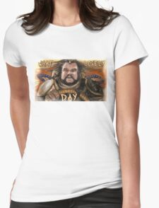 What a lovely day. Womens Fitted T-Shirt