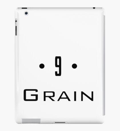 D 9 - Grain iPad Case/Skin