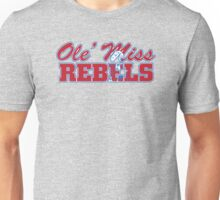 OLE MISS WITH EMBEDDED MASCOT Unisex T-Shirt