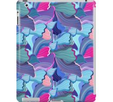 abstract pattern wave iPad Case/Skin