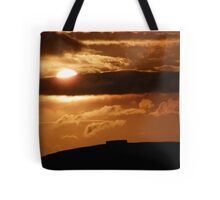 Grianian of Aileach Sunset ,Donegal, Ireland  Tote Bag