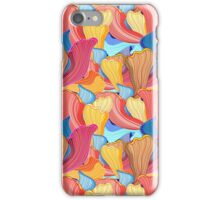 abstract pattern wave iPhone Case/Skin