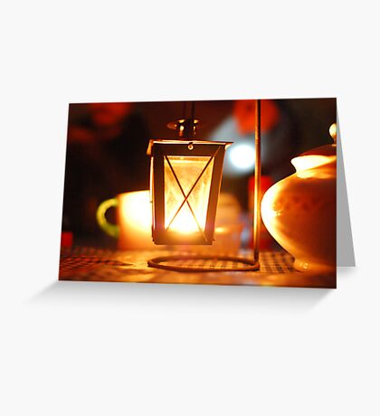 flashlight Greeting Card