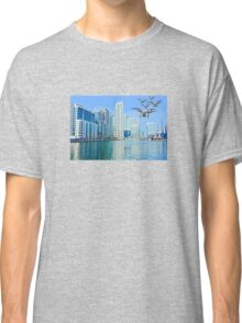 Drone swarm over the Docklands! Classic T-Shirt
