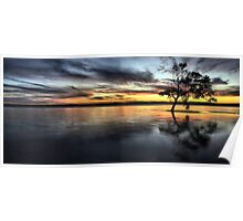 Hays Inlet Panorama Poster