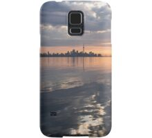 Early Morning Reflections - Lake Ontario and Downtown Toronto Skyline  Samsung Galaxy Case/Skin